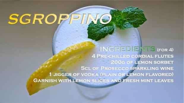 Sgopprino recipe graphic | ©Tom Palladio Images