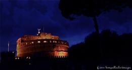 Daylight's last Breath - Castel Sant'Angelo - Rome, Italy   ©Tom Palladio Images
