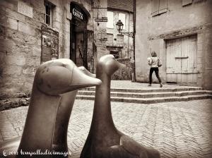 Mes amis français - Sarlat, France | ©Tom Palladio Images