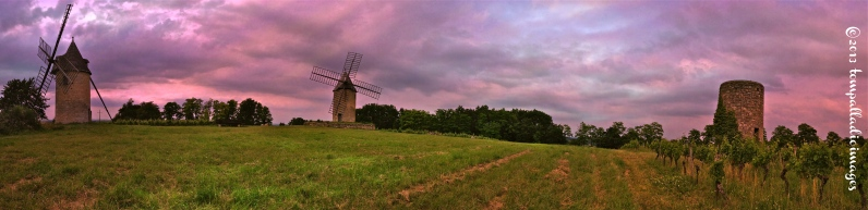 Windmills of Montagne | ©Tom Palladio Images