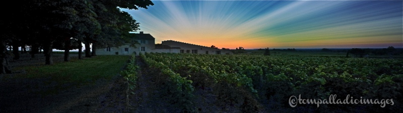 Sunset in St. Emilion, FR