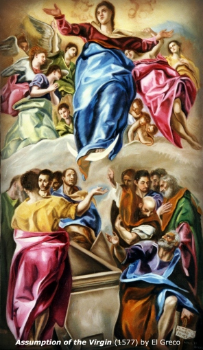Assumption of the Virgin by El Greco (1577)