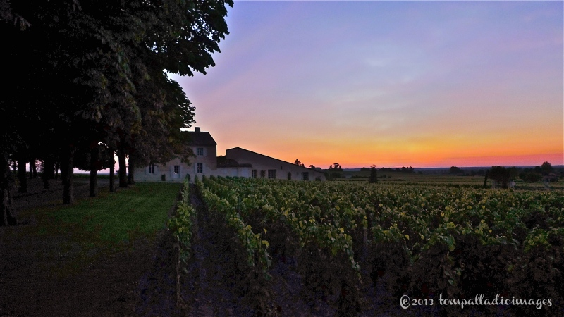 Sunset in Saint-Emilion, FR | ©Tom Palladio Images