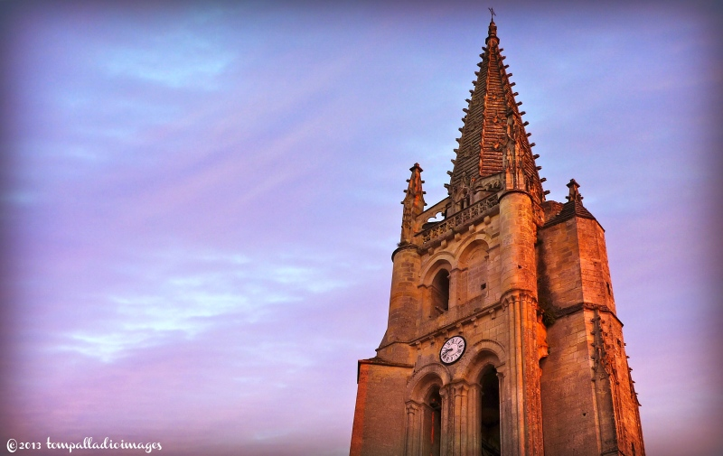 The bell tower of Saint-Emilion, FR