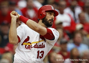 Matt Carpenter | ©2012 Jeff Haynes/Reuters