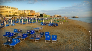 Sunrise over Spiaggia di Velutto - Senigallia, Italy | ©2013 Tom Palladio Images