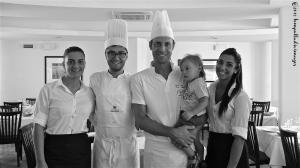 Executive Chef Luca Santini & staff - Turistica Hotel - Senigallia, Italy | ©Tom Palladio Images