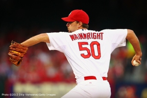 Adam Wainwright  | ©Dilip Vishwanat/Getty Images