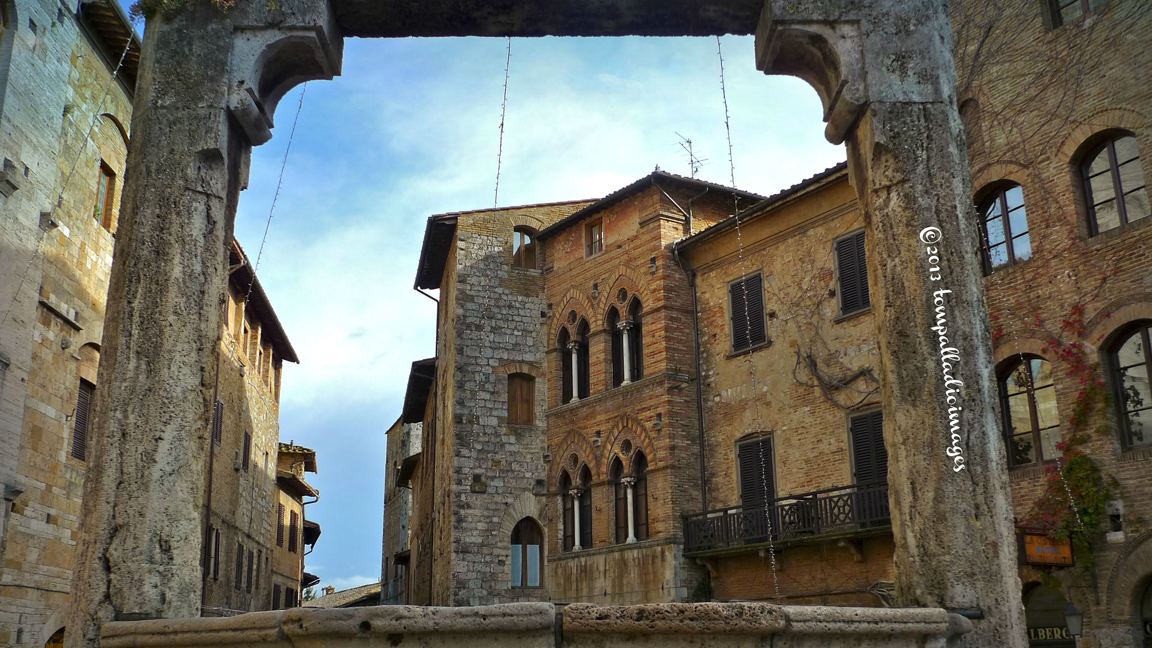 Country Roads The Good Humor Man Of San Gimignano The