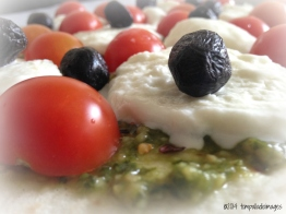 Pizza with Macro Toppings | ©Tom Palladio Images