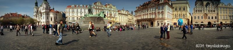 Bohemian Rhapsody: High Noon in Old Town Square | ©Tom Palladio Images