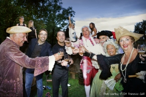 Celebrating the Wine Harvest with Bottega Gold   ©Tom Palladio Images