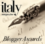 Italy Magazine 2014 Blogger Awards logo