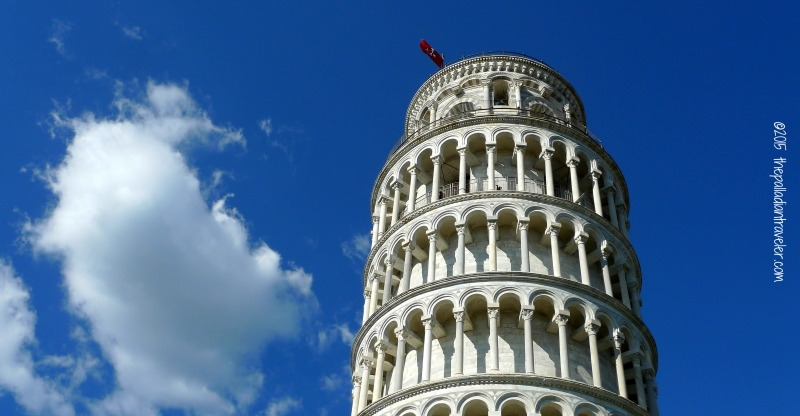 Leaning Tower of Pisa | ©thepalladiantraveler.com