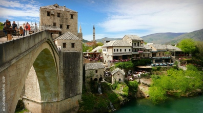 Stari Most Bridge, Mostar, Bosnia