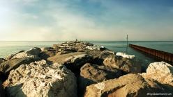 Jesolo Beach near Venice, Italy