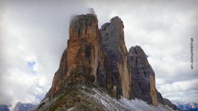 Tre Cime di Lavaredo in the Italian Dolomites