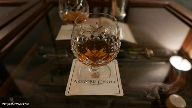 Nightcap at Ashford Castle, Co. Mayo, Ireland