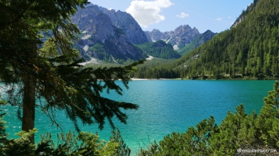 Dispatches from the Dolomites: Lago di Braies | ©thepalladiantraveler