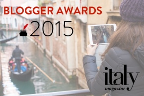 Italy Magazine 2015 Blogger Awards logo